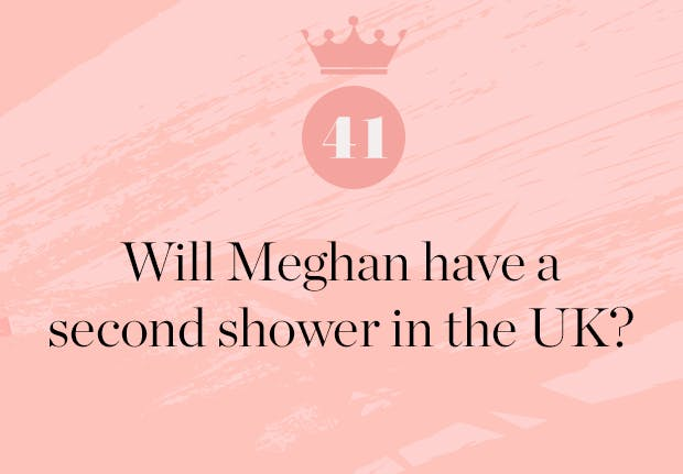 will meghan markle have a UK baby shower