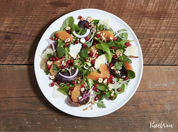 winter citrus salad salmon sides