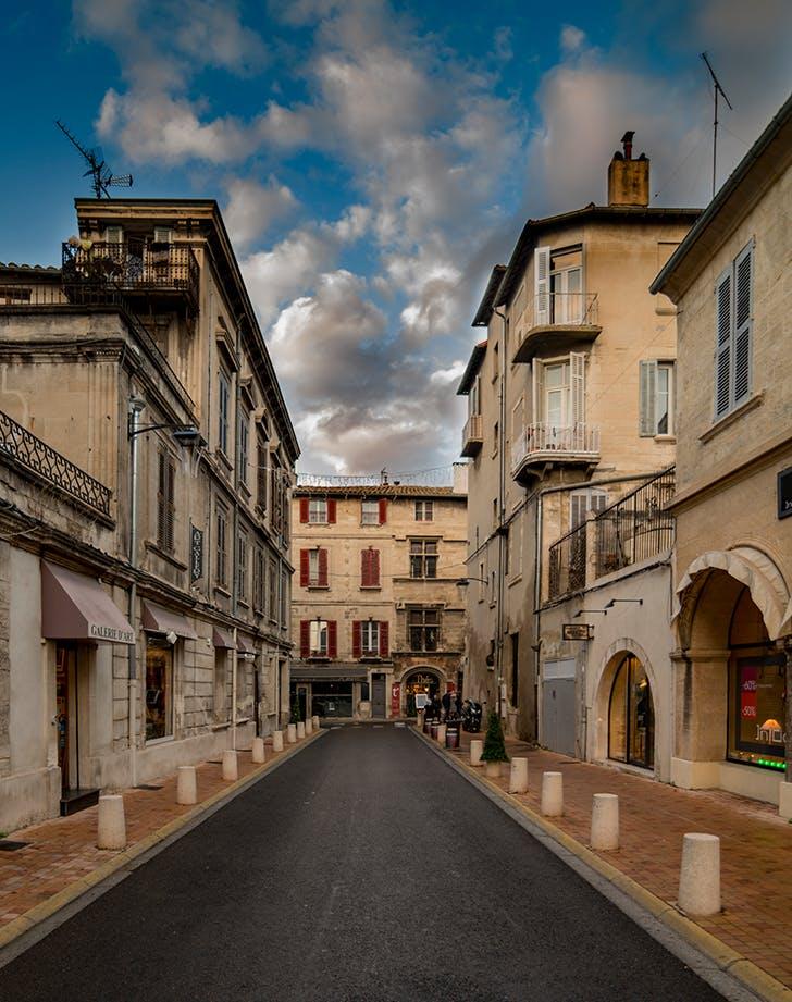 Avignon  France in May