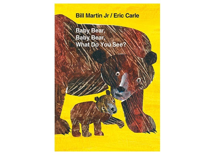 Baby Bear Baby Bear What Do You See book walmart baby registry