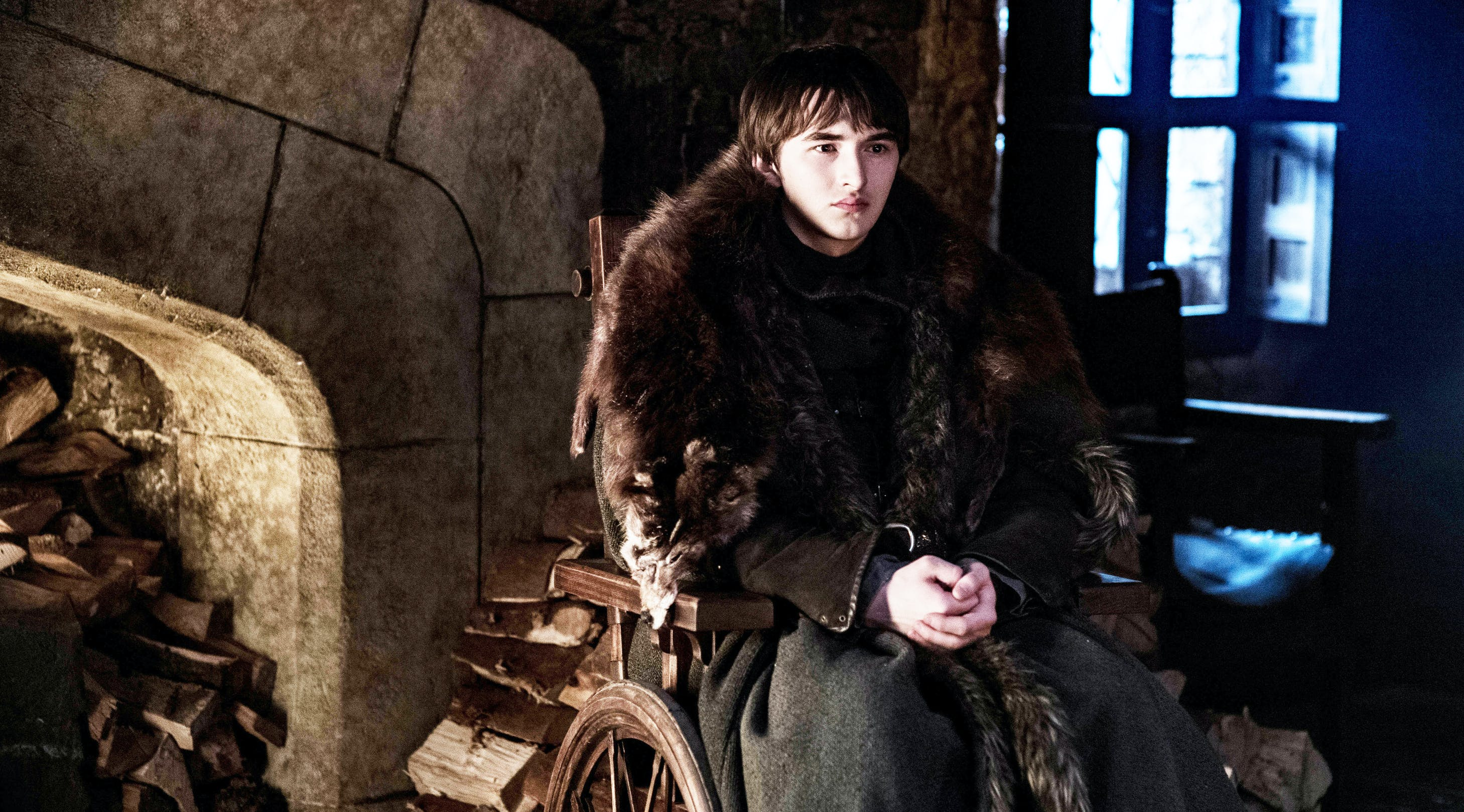 'Game of Thrones' Star Isaac Hempstead Wright Reveals the Story Behind His Creepy Bran Stare