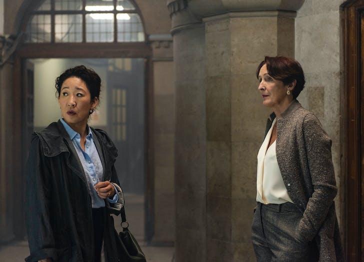 Carolyn and Eve at MI6
