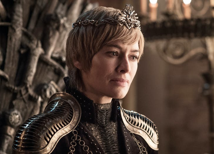 Cersei Lannister Game of Thrones season 8 premiere