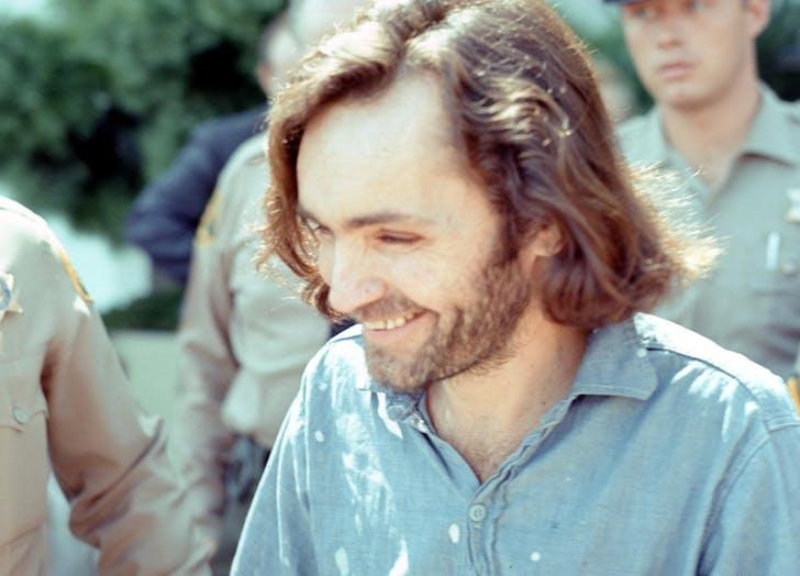 Charles Manson Laughing