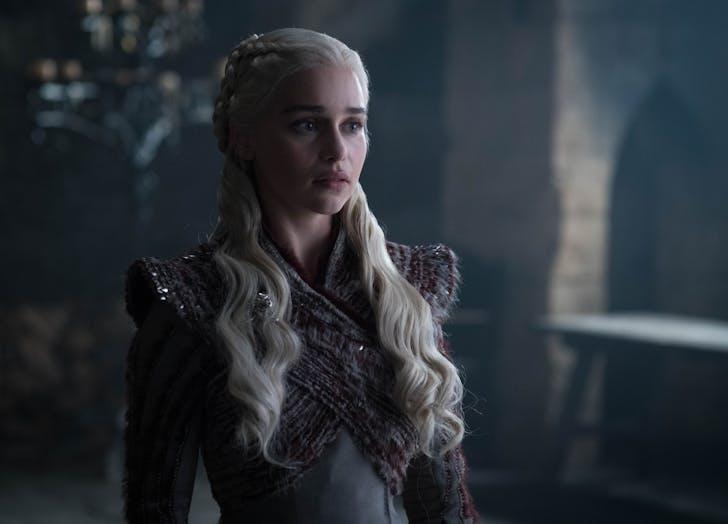 Daenerys Looking serious