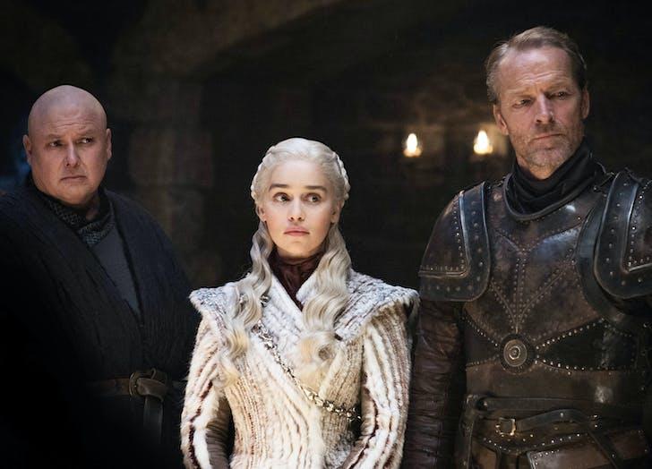 Daenerys Varys Ser Jorah Game of Thrones3
