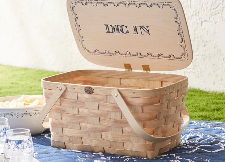 Draper James Cookout picnic basket