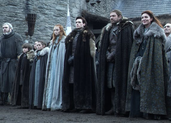 Game of Thrones Season 1 starks