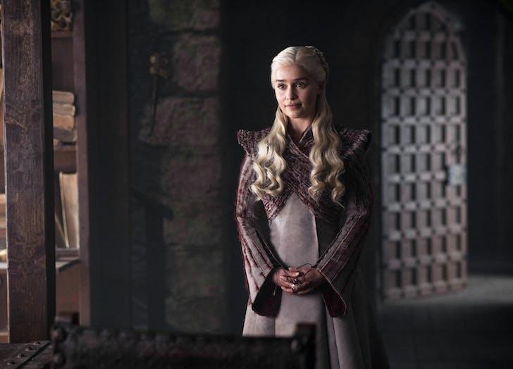 Game of Thrones Daenerys smiling2