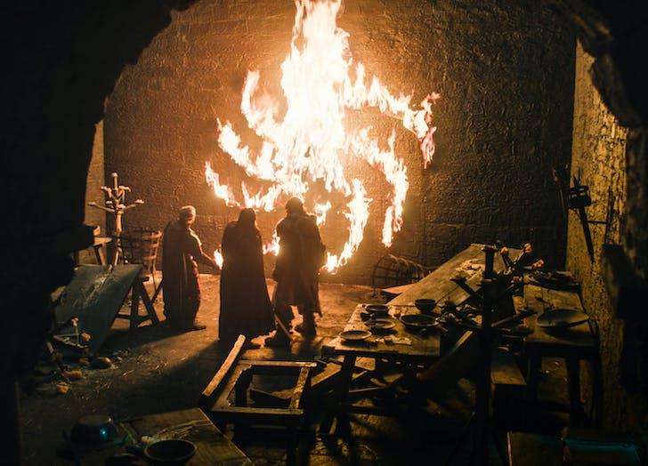 Game of Thrones White Walker patern