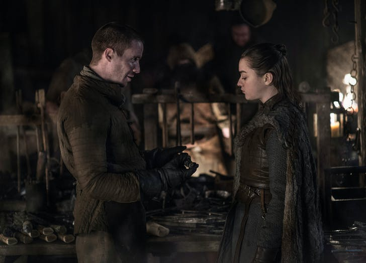 Gendry and Arya s Conversation