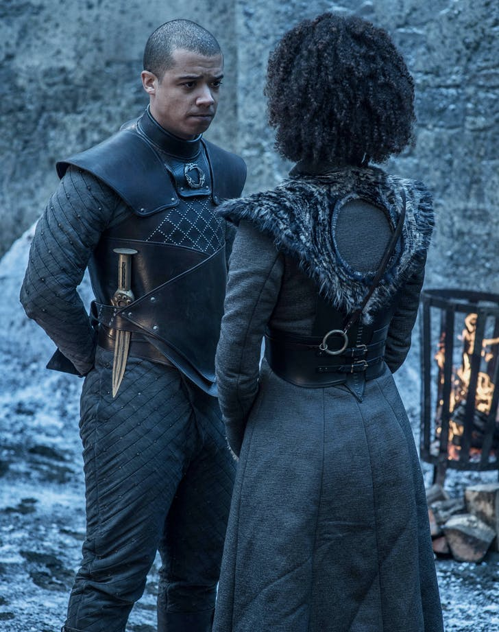 Grey Worm and Missandei1