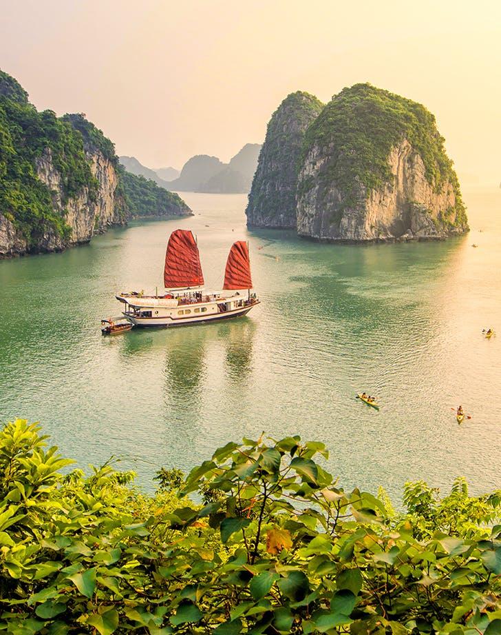 Ha Long bay  Quang Ninh  Vietnam