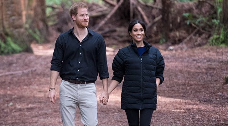 Buckingham Palace Just Issued a Statement About Prince Harry and Meghan Markles Possible Move to Africa