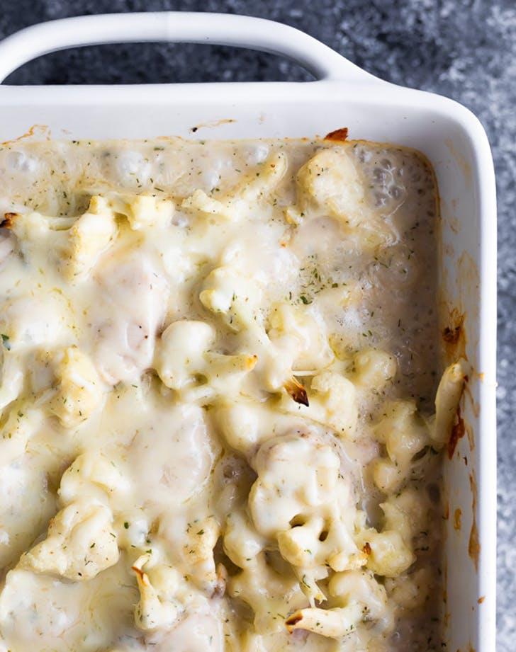 Healthier Chicken and Cauliflower Casserole