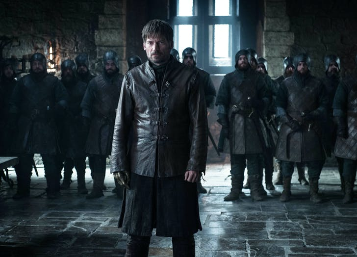 Jaime Lannister in Winterfell Game of Thrones1