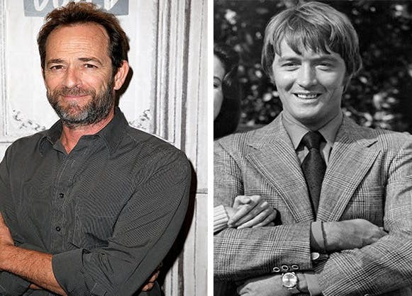Luke Perry and Wayne Maunder Once Upon a Time in Hollywood