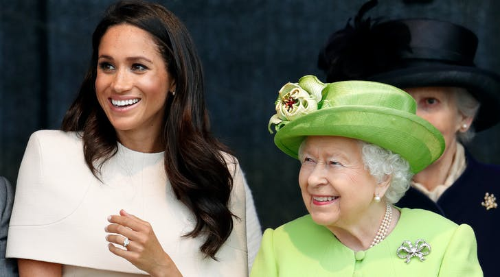 Queen Elizabeth Just Paid a Secret Visit to Prince Harry & Meghan Markle's New Home