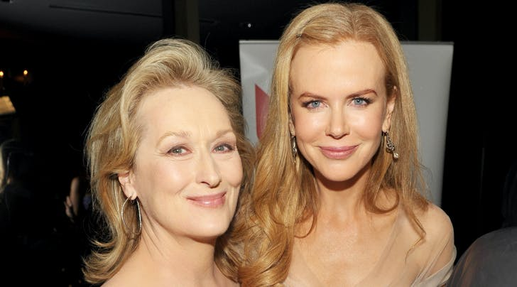 Nicole Kidman Confirms Meryl Streep Is in the 'Big Little Lies' Group Text—but That's Not the Best Part