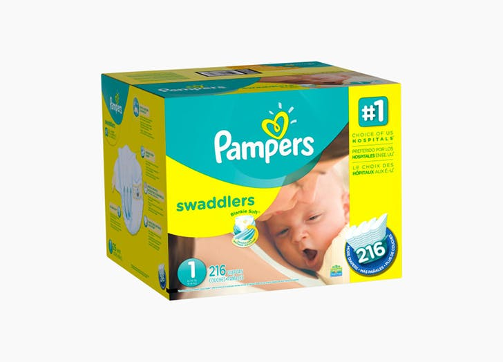 Pampers Swaddles Babylist Registry