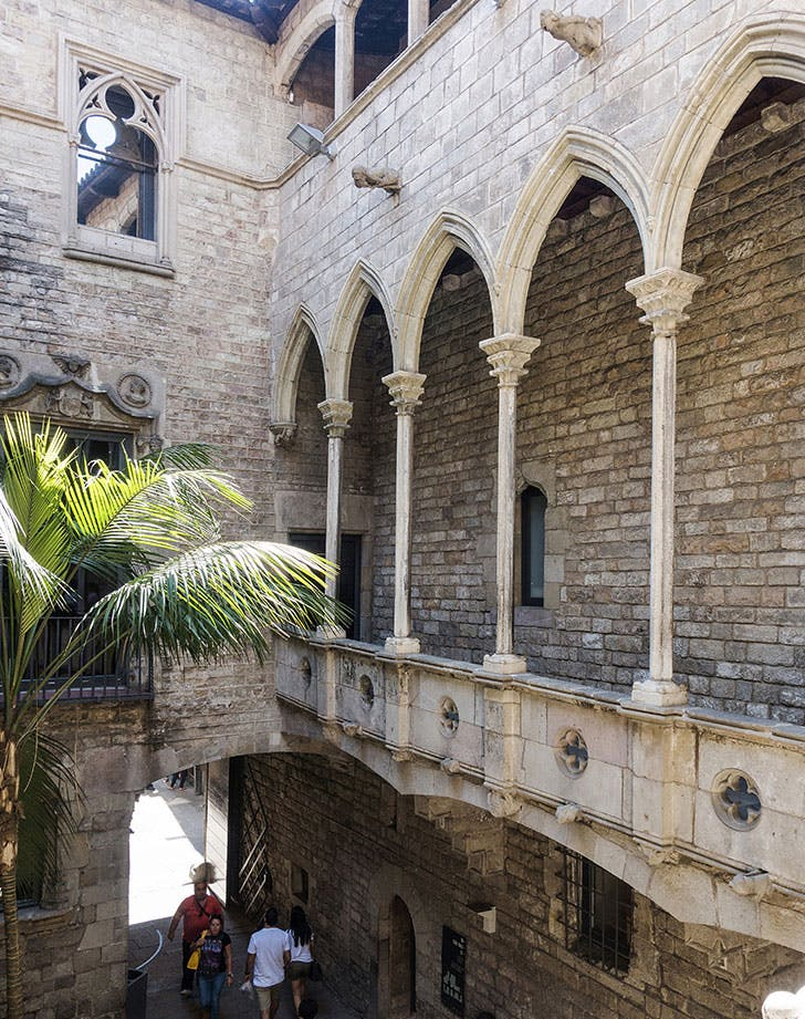 Picasso Museum in Barcelona  Spain
