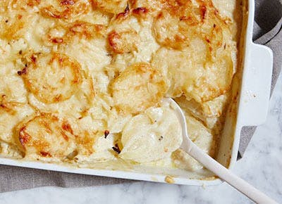 Potatoes au gratin recipe 400