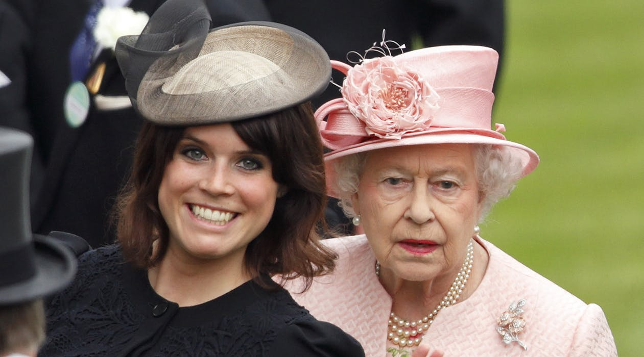 Princess Eugenie Stole the Show in a Custom Frock at Queen Elizabeth's Birthday Mass