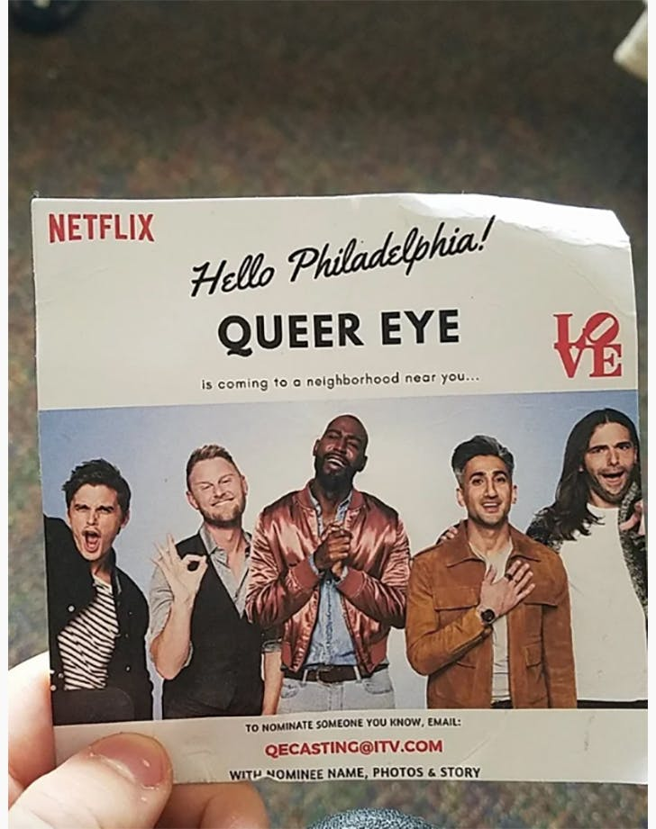 Queer Eye Season 4 casting call flier1