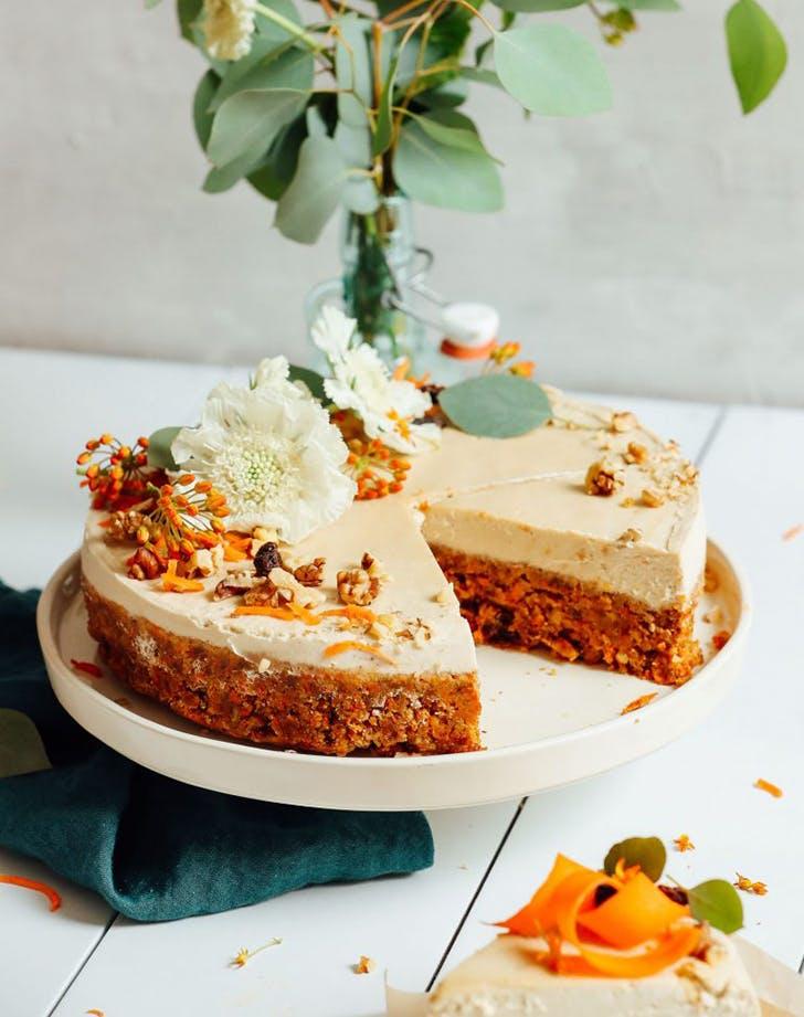 Raw Vegan Carrot Cake Recipe
