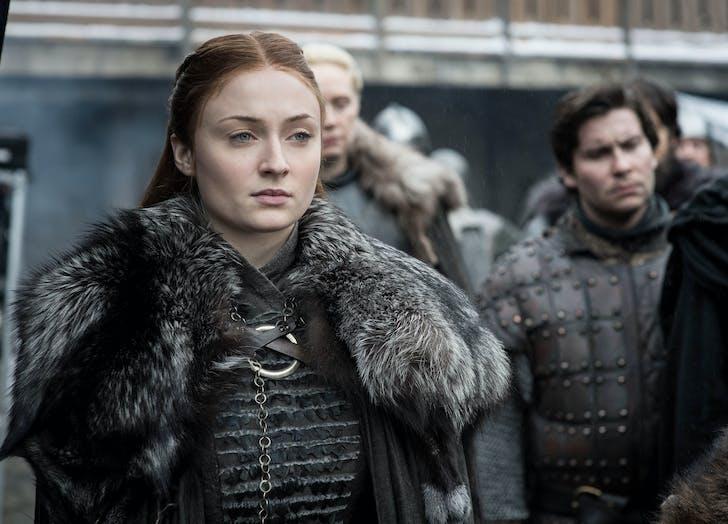 Sansa Stark at Winterfell