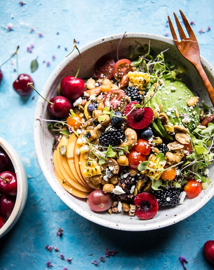 Summer Abundance Salad cold dinner recipes