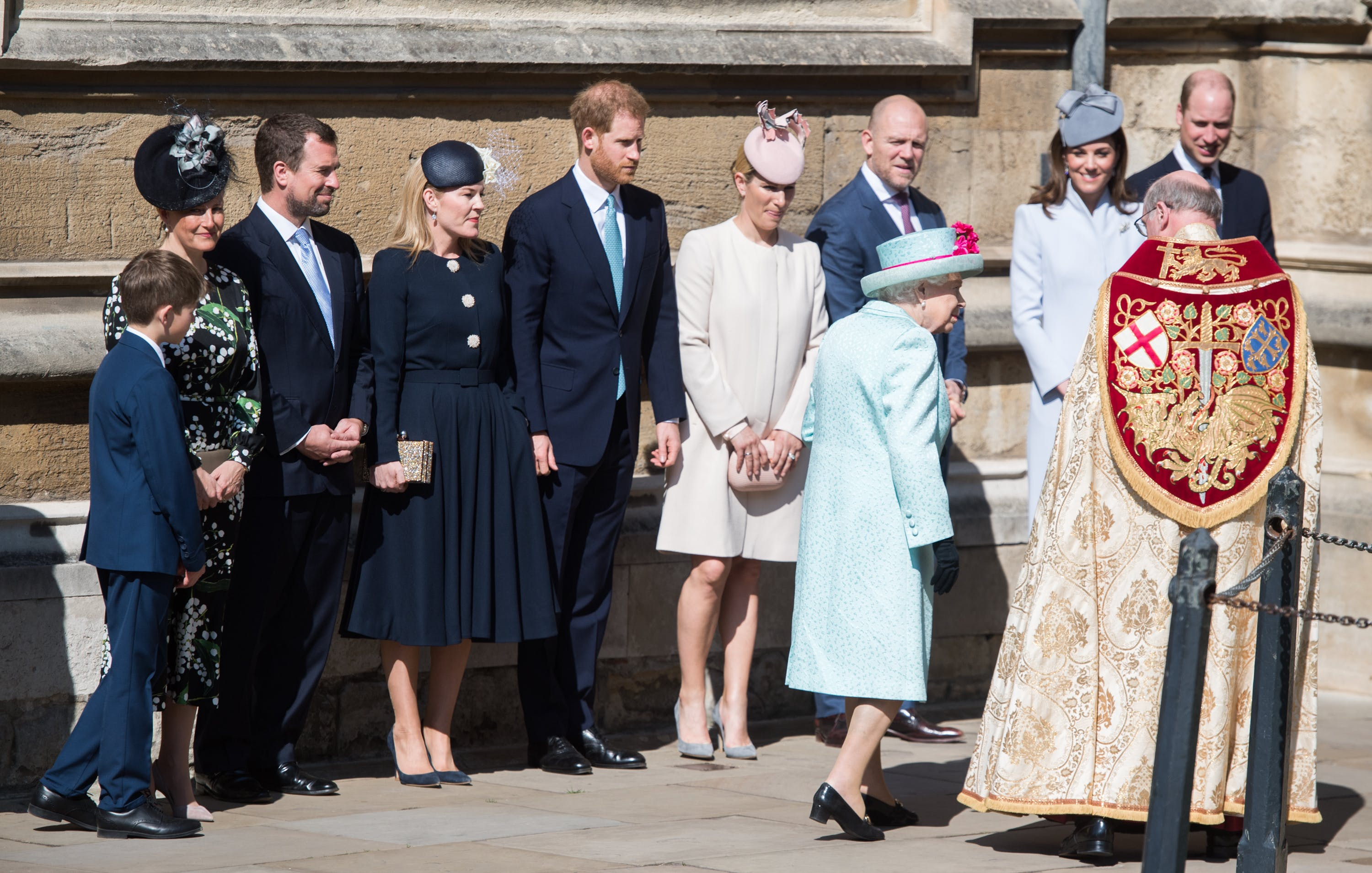 Princess Beatrice Stole the Show in a Custom Frock at Queen Elizabeth's Birthday Mass