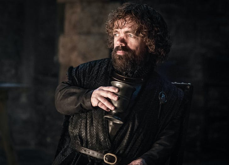 Tyrion Lannister looking pensive1
