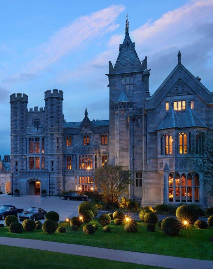 a castle hotel