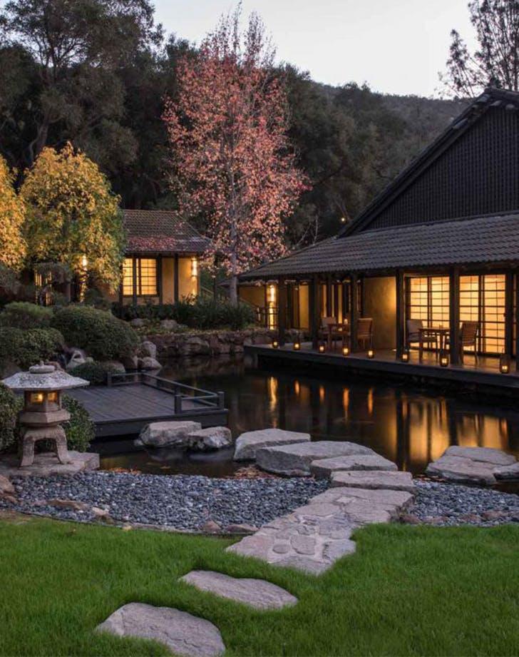 a wellness retreat