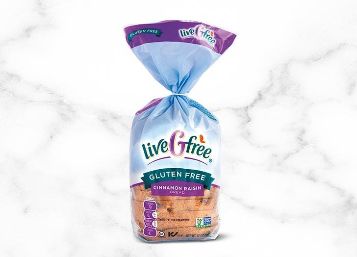 aldi livegfree gluten free cinnamon raison bread
