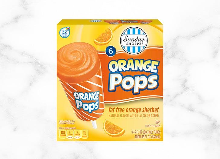 aldi sundae shoppe orange sherbet pops