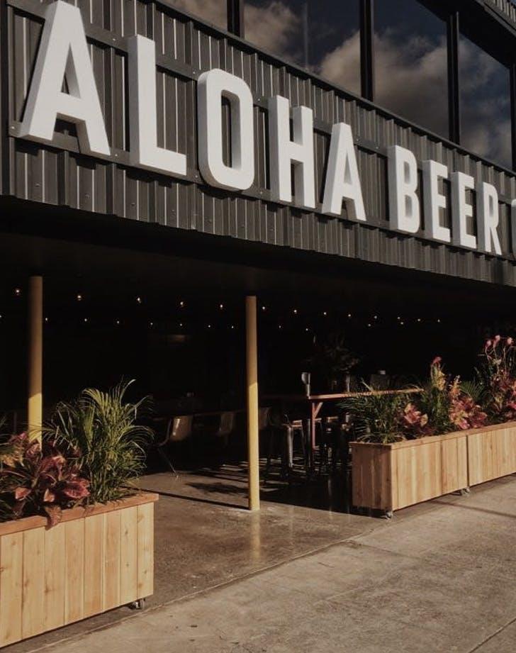 aloha beer company hawaii dog friendly bar