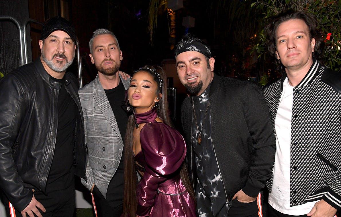 Ariana Grande's Coachella Set Doubled as an *NSYNC Reunion