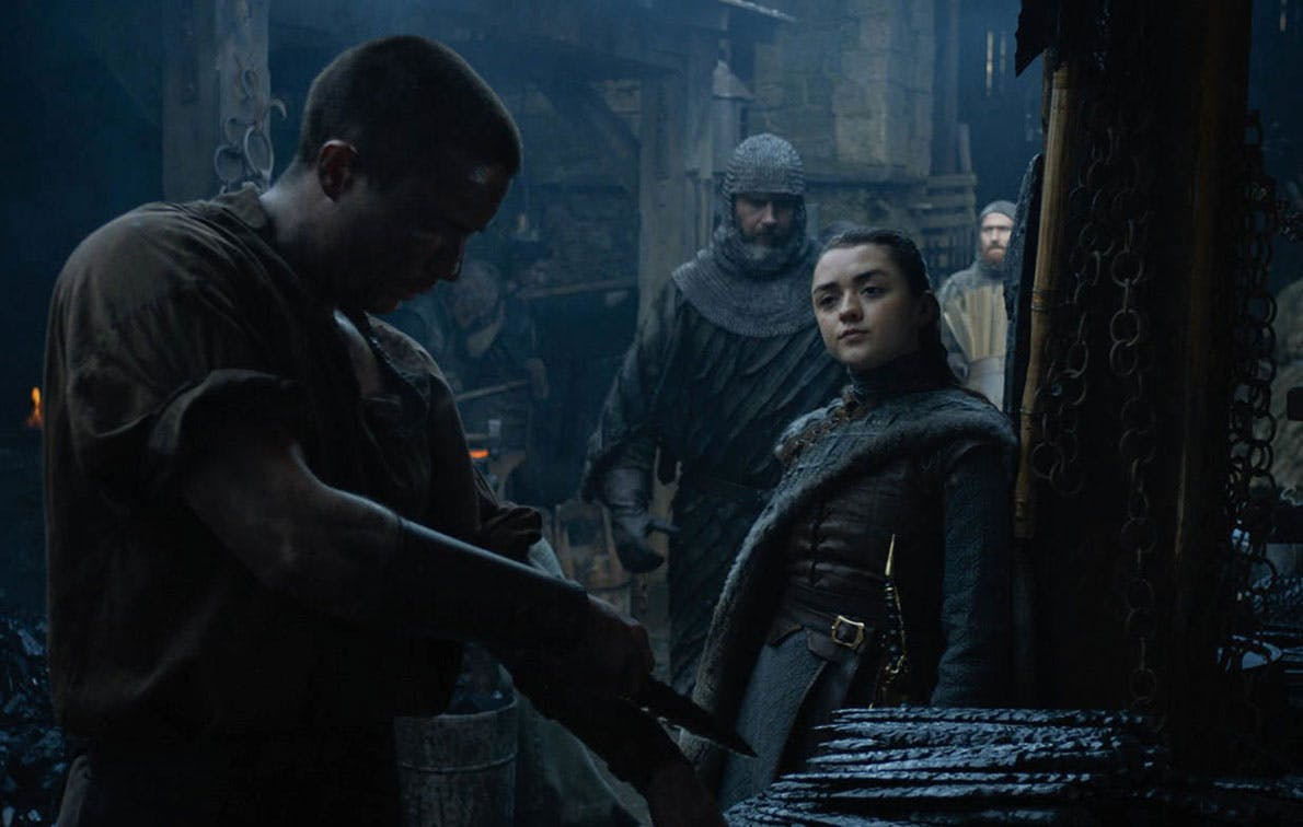 What's Up With Arya's New Weapon on 'Game of Thrones'?