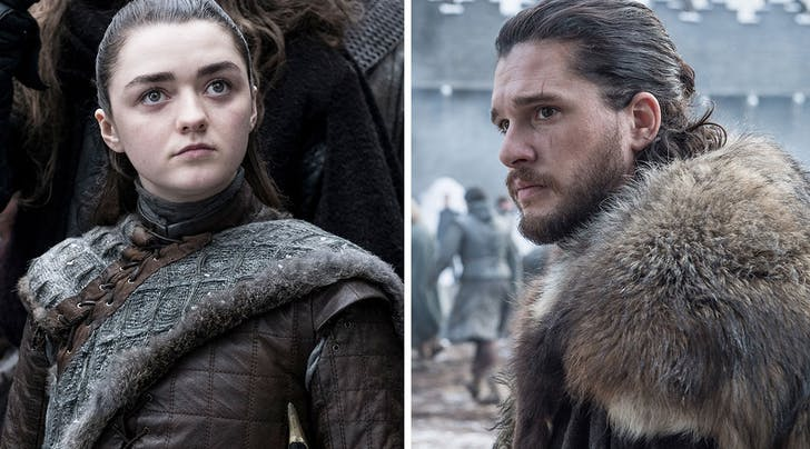 Maisie Williams Just Revealed Deets About the Highly Anticipated Arya-Jon Reunion (Hint: It Wont Be All Warm-Fuzzies)
