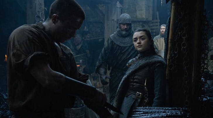 Whoa, We Totally Missed How Arya's Sex Scene Fulfills This Season 1 Prophecy