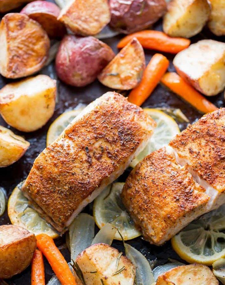 baked mahi mahi vegetables recipe