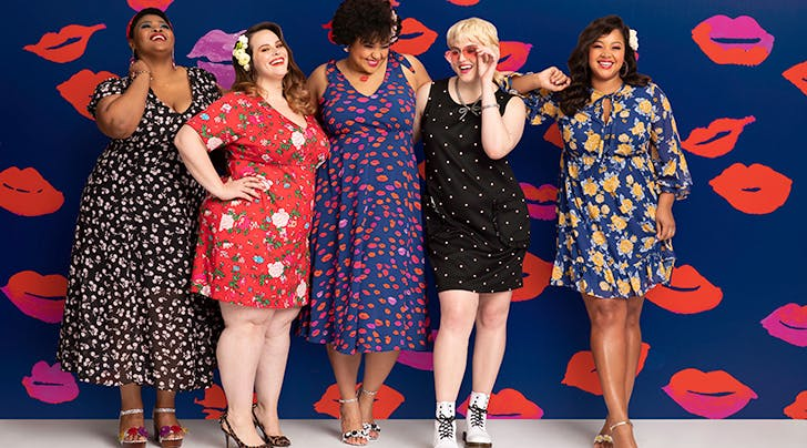 Betsey Johnson's New Collab with Dia & Co Goes Up to Size 24—and Everything's Less Than $100
