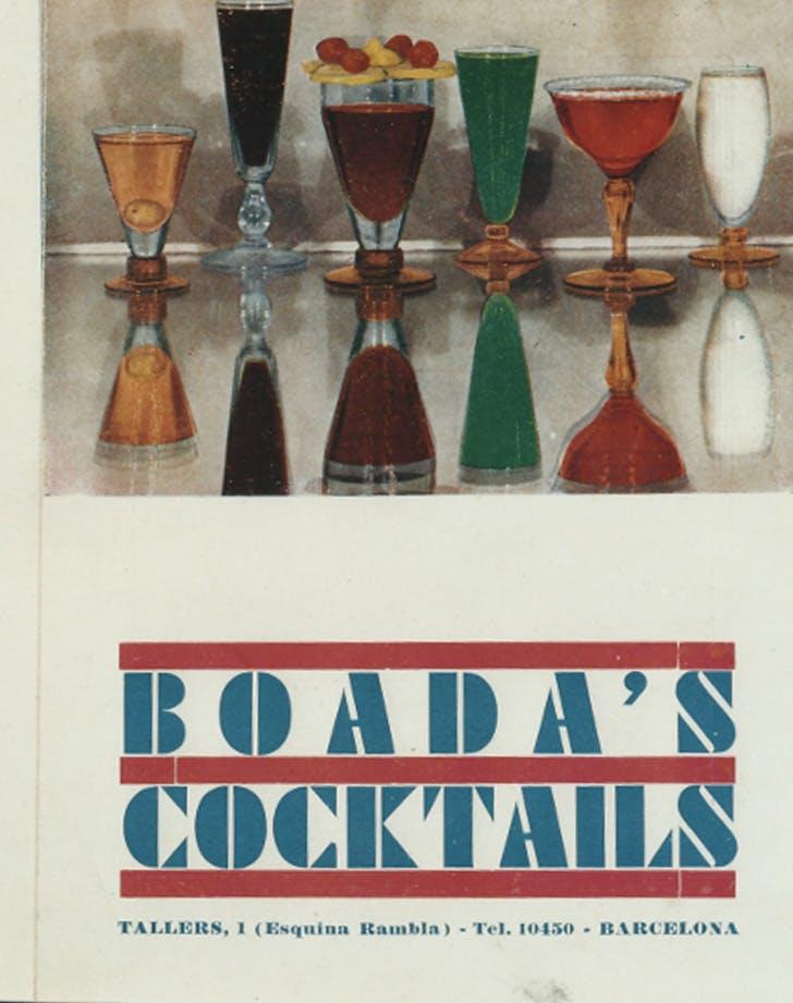 boadas cocteleria cocktails