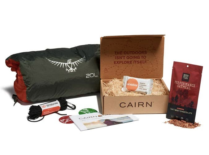cairn climbing subscription boxes