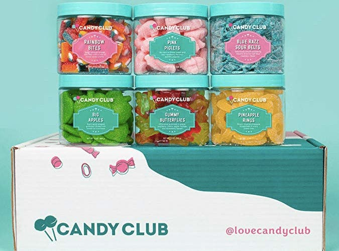 candy club subscription boxes