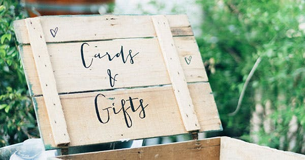 When To Send A Wedding Gift: Why You Shouldn't Always Have To Send A Wedding Gift