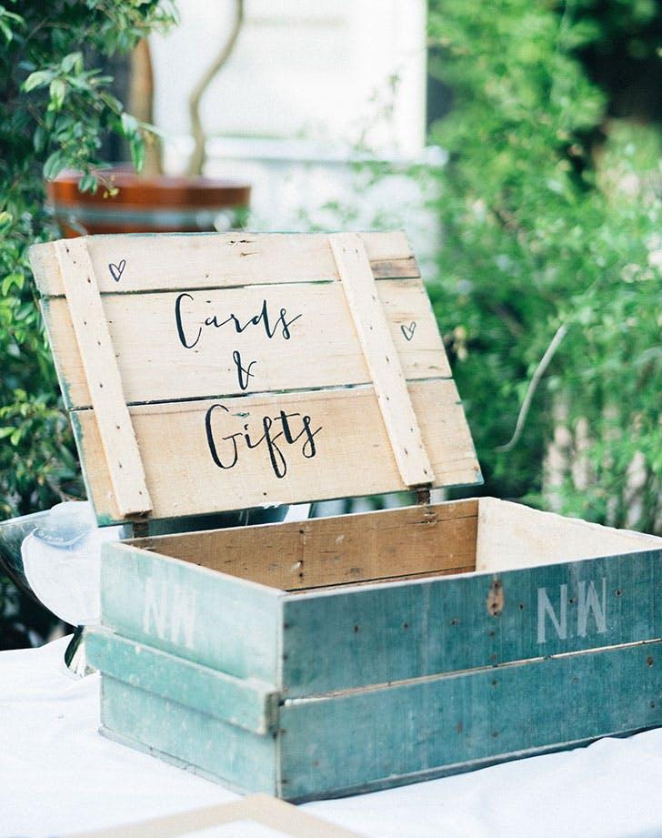 card box at wedding 728
