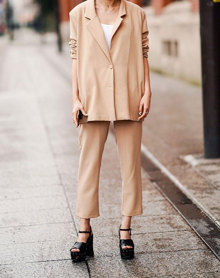 clothing for short women platform shoes
